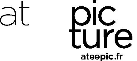 logo ateepicture en noir
