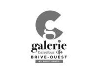 logo Galerie Carrefour Brive gris