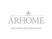 logo Arhome décoration gris